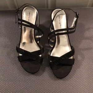 Metaphor black dressy women shoes size 7 1/2